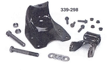339-298 Ford 2.25 inch Spring Hanger Shackle Kit