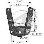 M993 Hanger for Front of Rear F-150/F-250  6 Holes  97-2010
