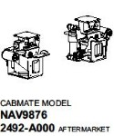 2492A000 Link International 9670, 9700 and 9800 Series cabovers Cab Air Suspension