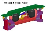 2906A000 Link Kenworth sleepers Cab Air Suspension