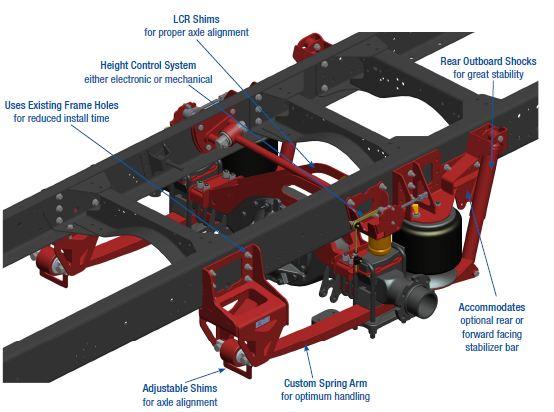 8M000105 Link Air Ride Suspension for GMC C4500 5500
