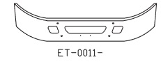 International Navistar 2005 4300 DT486 Truck Bumpers