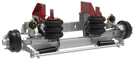 8K Self-Steer Lift Axles