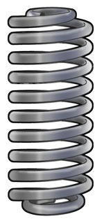 heavy duty coil springs and front coil springs