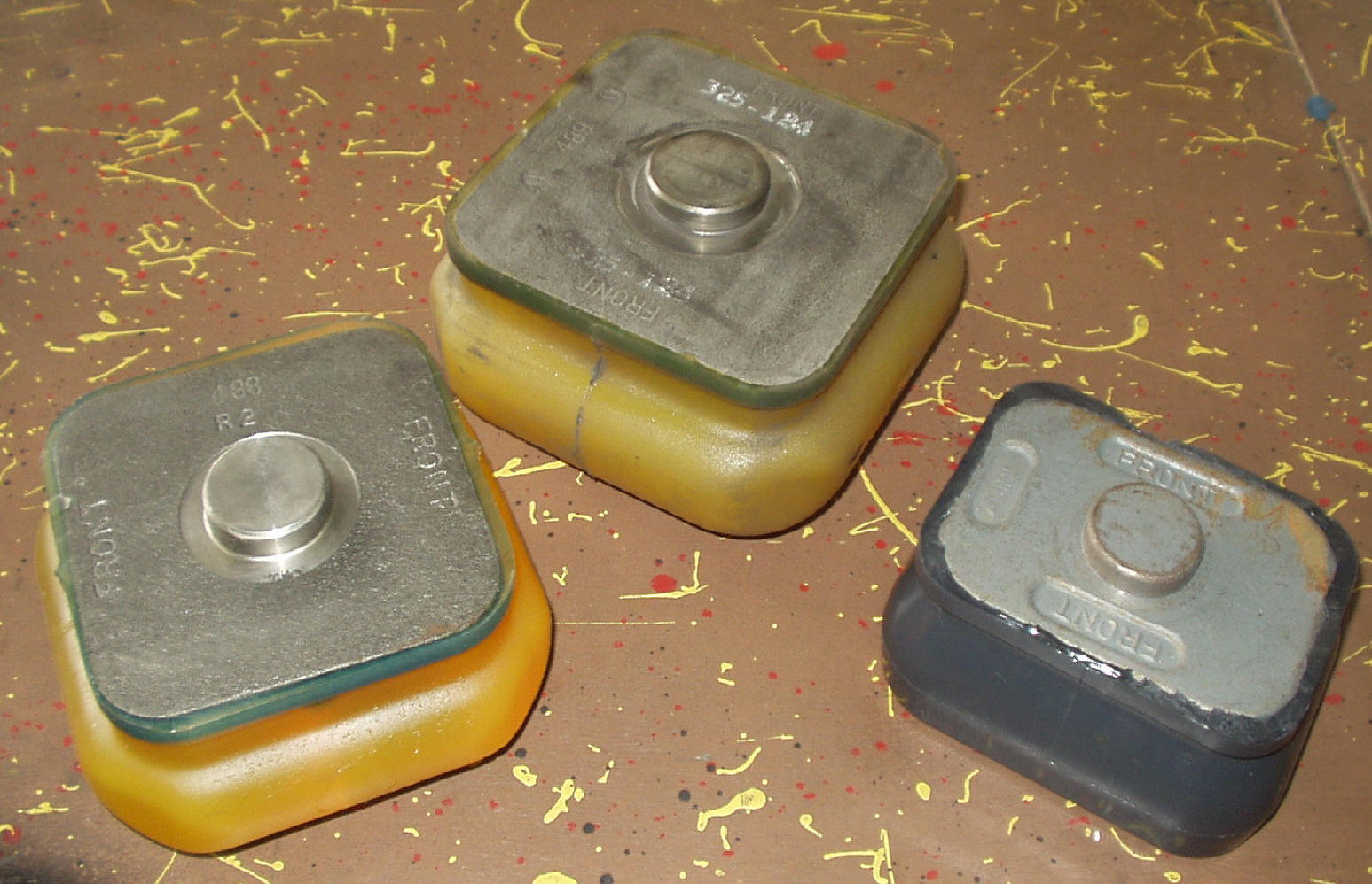 Mack Suspension Parts Full Line Of Including Mr Wiring Diagram Truck Urethane Load Pads