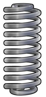 351-813 Cargo Coil Springs (set of two)