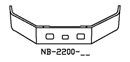 NB-2200 2004 & Newer Acterra Set Forward Axle