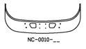 NC-0010 2005 and Newer Sterling LT9513, LT9500 Set Back Axle Truck Bumper