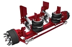 SCT08EBBKKAX2X Hendrickson 8K Steerable Lift Axle