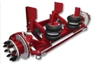 SCT13CD1X0AXMX Hendrickson 13.5K Steerable Air Disc Brakes Lift Axle