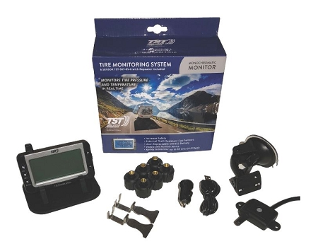 TST-507-RV-6 RV Truck Tire Pressure and Temperature Maintenance System 6 Sensor