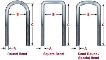 suspension parts - U bolts