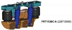 2267D000 Link Freightliner FL60, FL70, FL80 and FL106 Cab Air Suspension