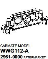29610000 Link White GMC WG Series conventionals Cab Air Suspension