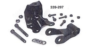 ST-835 Complete Ford Ranger Front and Rear Spring Hanger Kit