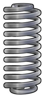 351-866 Cargo Coil Springs (set of two)